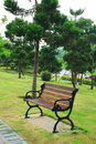 Free Bench In Park Royalty Free Stock Photography - 14867507