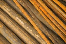 Free Rusty Pipes Royalty Free Stock Images - 14860619
