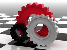 Free Gears Concept Stock Image - 14860801