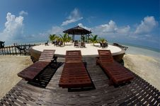 Beautiful Resort Royalty Free Stock Photo