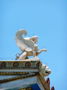 Free Sphinx, Detail From The National Academy Stock Photography - 14860872