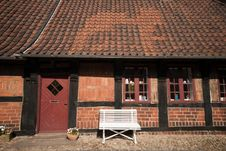 Free Part Of Old House In Ribe Stock Photography - 14861182