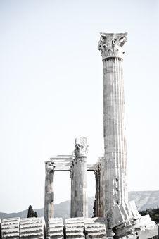 Free Temple Of Zeus Stock Photo - 14861970