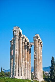 Free Temple Of Zeus Royalty Free Stock Photo - 14861975