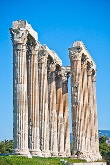 Free Temple Of Zeus Stock Photos - 14861983
