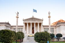 Free The Academy Of Athens Royalty Free Stock Image - 14861986