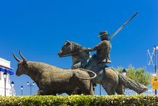 Free Statue Of Toreador Royalty Free Stock Image - 14861996