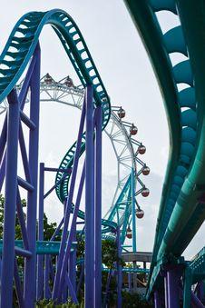 Free Roller Coaster 2 Stock Image - 14862211
