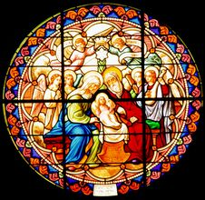 Free Stained Glass Royalty Free Stock Photography - 14863767