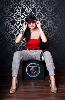 Free Sexy DJ Stock Images - 14864124