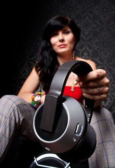 Free Sexy DJ Royalty Free Stock Image - 14864186