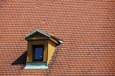 Free Attic In The Old City Of Prague Royalty Free Stock Images - 14864919