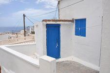 Free Greek House Stock Photo - 14866830