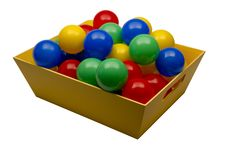 Plastic Toy Balls Stock Images
