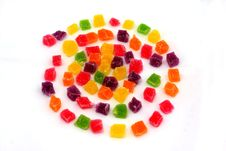 Free Close Up Of Colorful Candies Jelly Royalty Free Stock Photo - 14867455