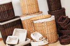 Baskets. Royalty Free Stock Images