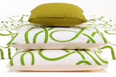 Free Bedding. Royalty Free Stock Photography - 14868027