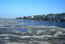 Saint-Petersburg. River Neva. Stock Image