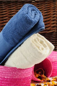 Free Towels. Royalty Free Stock Photos - 14868798