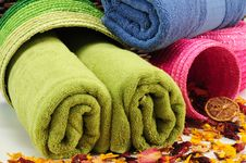 Free Towels. Royalty Free Stock Images - 14868819