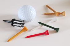 Free Golf. Royalty Free Stock Photography - 14868997