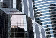Building Window Reflections Royalty Free Stock Photography