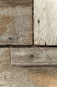 Free Old Wood Texture With Nail Royalty Free Stock Photos - 14869828