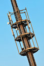 Free Telecommunication Monopole Tower. Royalty Free Stock Image - 14870406