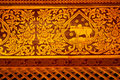 Free Exquisite Thai Painting Stock Photo - 14874550
