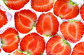 Free Fresh Strawberries In Sour Cream Royalty Free Stock Photos - 14878418