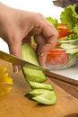 Free Salad Preparing Royalty Free Stock Photos - 14879468