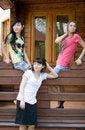 Free Three Female Friends Stock Image - 14879711