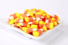 Free Candy Corn In A Bowl Stock Images - 14870074