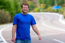 Free Hitchhiking Royalty Free Stock Photo - 14870285