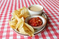 Free Chips And Salsa Stock Photos - 14870313