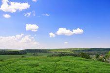 Free Summer Landscape Royalty Free Stock Image - 14870766