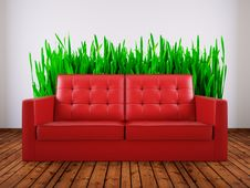 Free Sofa Stock Photography - 14870772