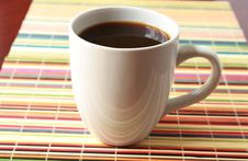 Free White Cup With Coffee Stock Photos - 14870783