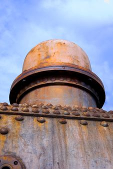 Free Rust Structures On An Steam Engine Royalty Free Stock Photos - 14870868