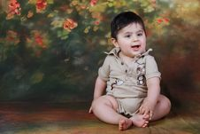 Free Baby Smiling Royalty Free Stock Photos - 14871538