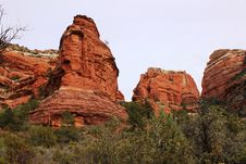 Free Red Rock Formations Stock Photography - 14872102