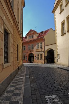Free Old Street ,Prague Stock Photography - 14872152