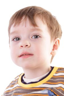 Free Cute Little Boy Stock Photo - 14872330