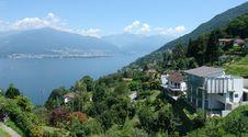 Lago Maggiore Stock Photo