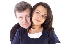 Free Mature Couple Smiling Together Royalty Free Stock Photo - 14872415