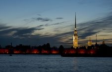 Free The White Nights Of Saint Petersburg. Stock Photography - 14872882