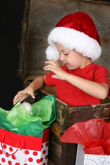 Free Christmas Boy Stock Photos - 14873243