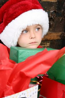 Free Christmas Boy Royalty Free Stock Image - 14873256