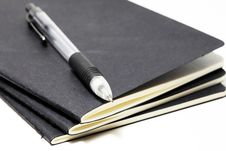Free Sketchbooks With A Mechanical Pencil Royalty Free Stock Images - 14874149