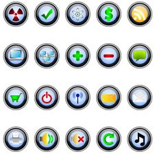 Free Buttons Stock Image - 14874451